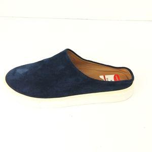 Caslon Sz 6 M Blue Suede Slip On Clog Flat Sneaker